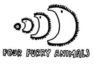 FOTO FOUR FURRY ANIMALS