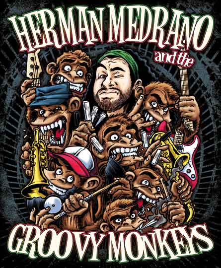 FOTO HERMAN MEDRANO & The Groovy Monkeys